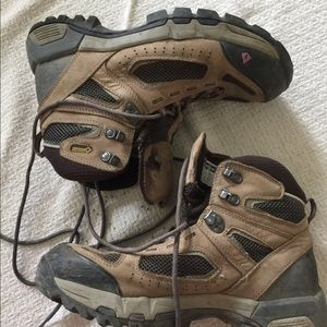 Vasque Brown Hiking Shoes Sz 10.5
